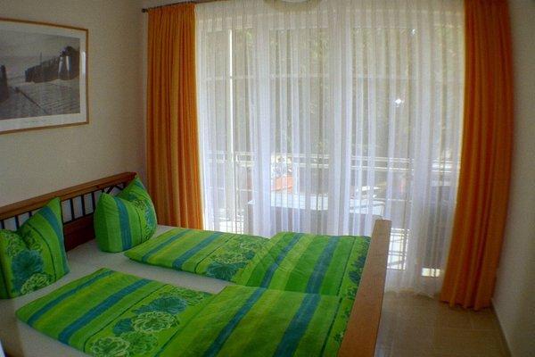 Schlafzimmer mit Blick zum Wasser