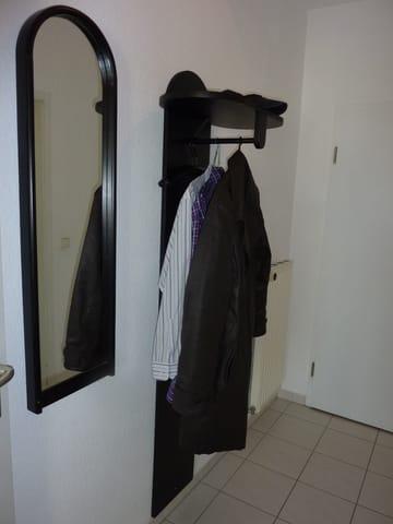 Der Eingangsbereich der Wohnung