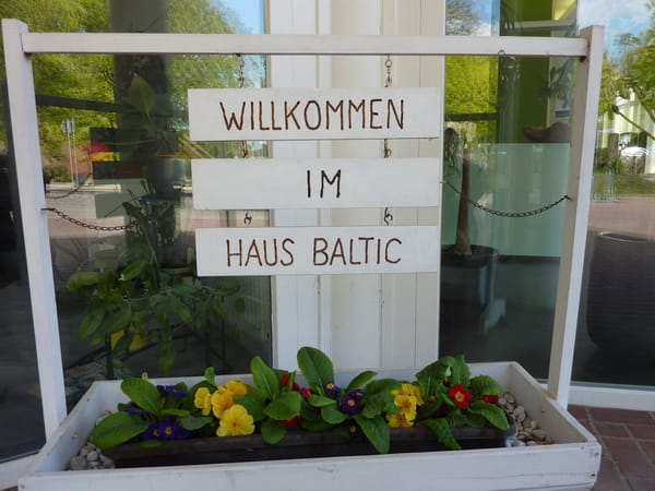 Willkommen im Haus Baltic