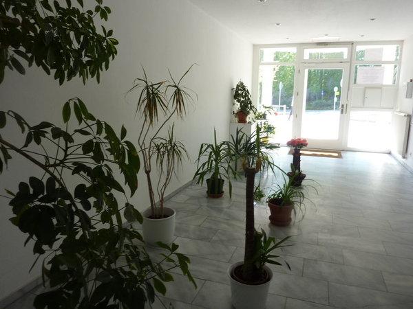 Das Foyer des Haus Baltic
