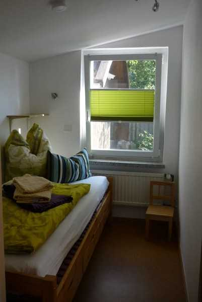 Zimmer 1 mit Einzelbett