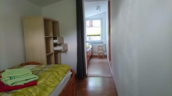 Durchgang Zimmer 1 und 2