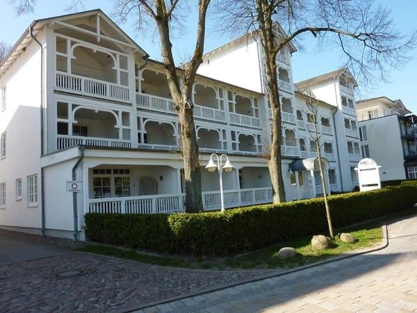 Aparthotel Ostsee: traditionell im typischen Bäderstil errichtet