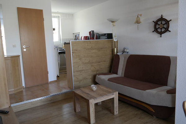 Wohnbereich mit Couch