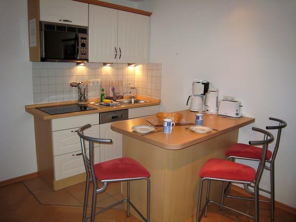 integrierte Küchenzeile inkl. Geschirrspüler
