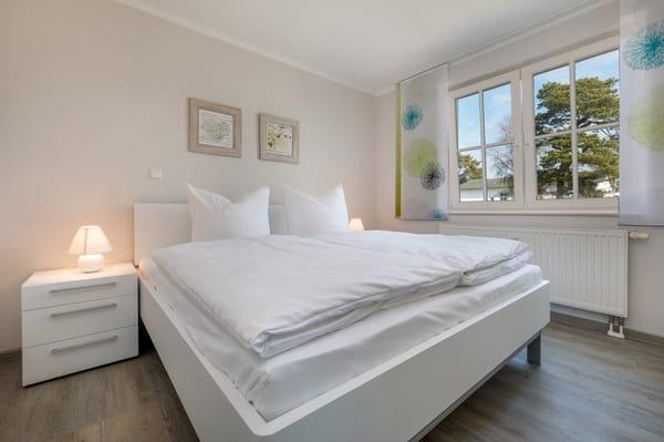 Schlafzimmer Nr. 1 hat ein Doppelbett (1.80 x 2.00m) ...