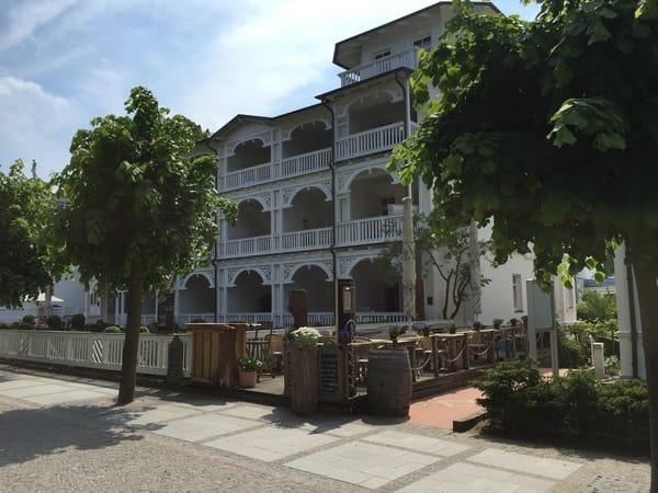Villa Seeadler an der Strandpromenade