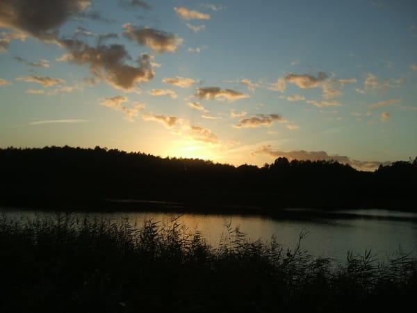 Abendstimmung am Kölpinsee
