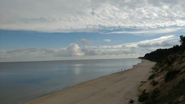 Strandspaziergang an der Ostsee / Stubbenfelde Bernsteinecke