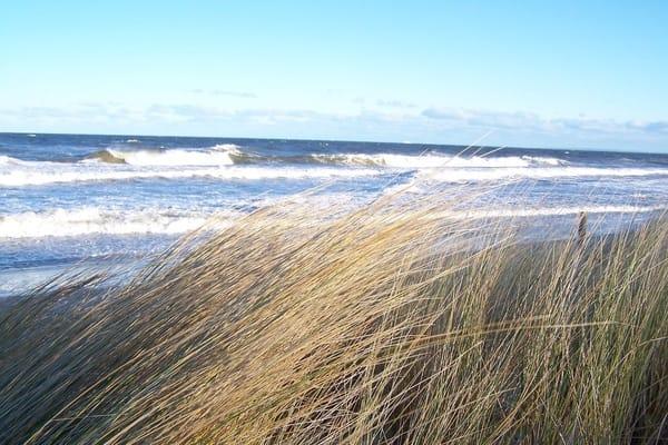 Sturm an der Ostsee