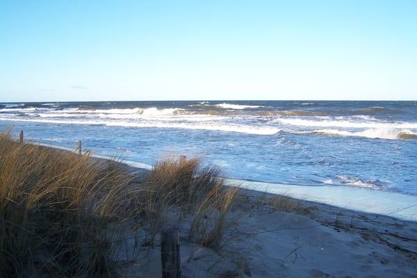 Winterspaziergang an der Ostsee