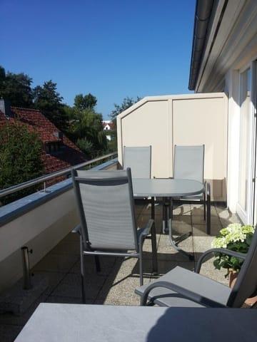 Zweite Dachterrasse mit Sitzecke