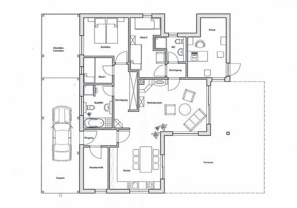 Grundriss Haus Viola