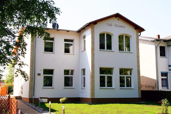 Anicht der Villa - Wohnung im EG
