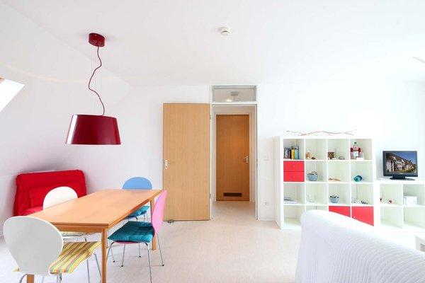 separater Eßplatz im Wohnraum