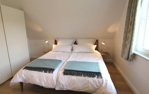 Auch bei der Einrichtung der Schlafräume wurde auf Qualität, Komfort und Atmosphäre besonderen Wert gelegt.