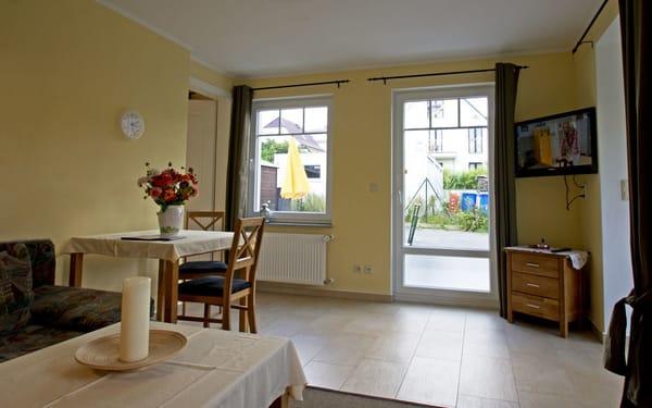 Wohnzimmer Richtung Terrasse