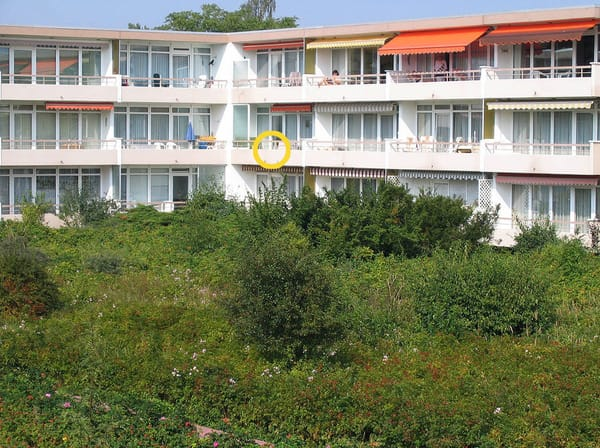 Die beliebte private Apartmentanlage Haus Baltic
