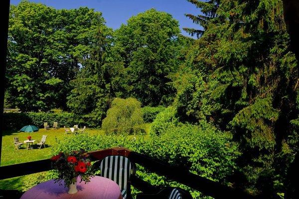 Aussicht in den Garten