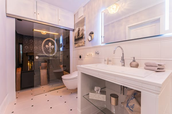 Infrarotkabine & Dusch WC