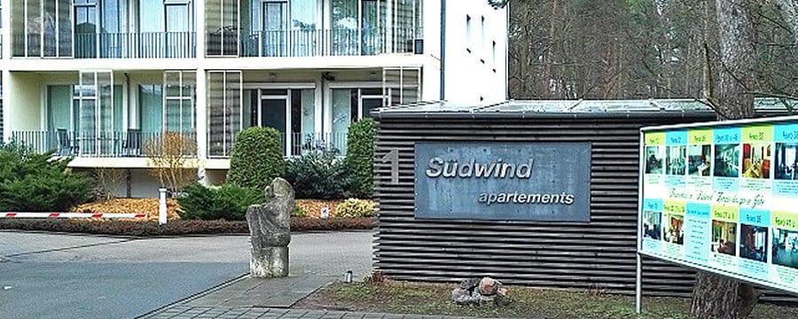Apartemthaus Südwind in Zempin auf Usedom