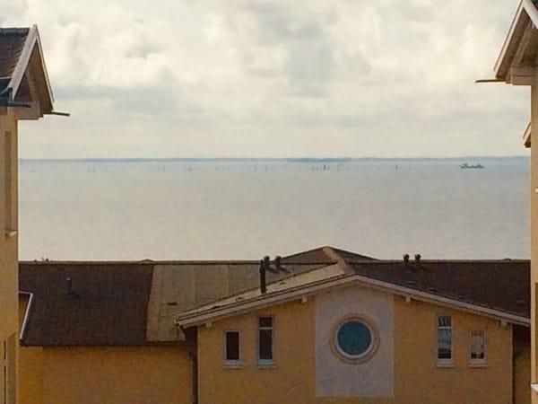 eingeschränkter Meerblick auf die Ostsee!