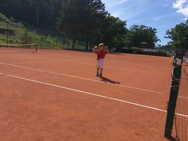 Tennis am Nordstrand in Göhren