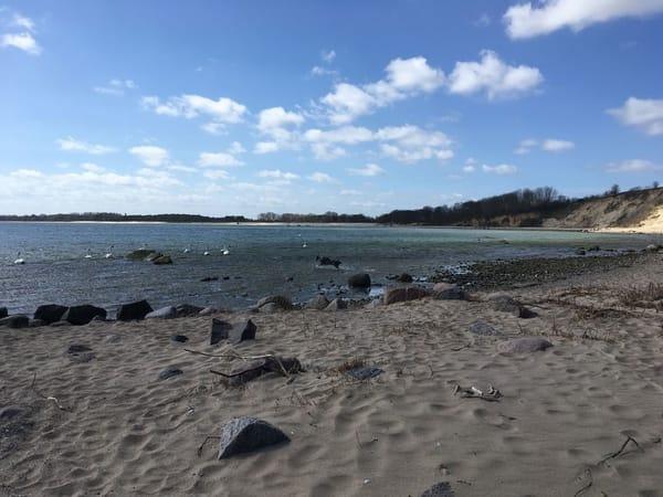 Südstrand des Ostseebades Göhren