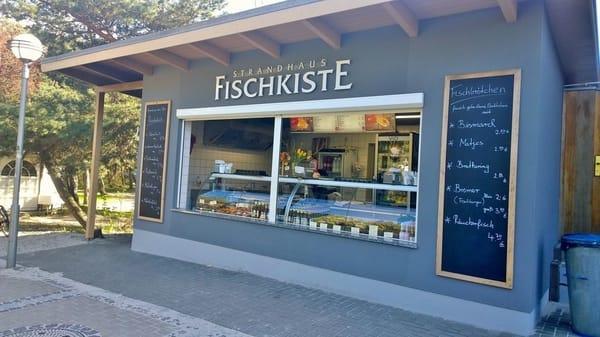 Fischbrötchenversorgung nah am Strand