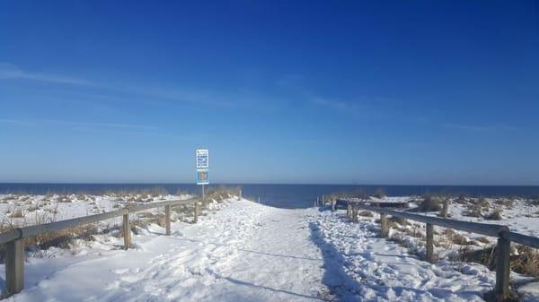 Winter am Strand