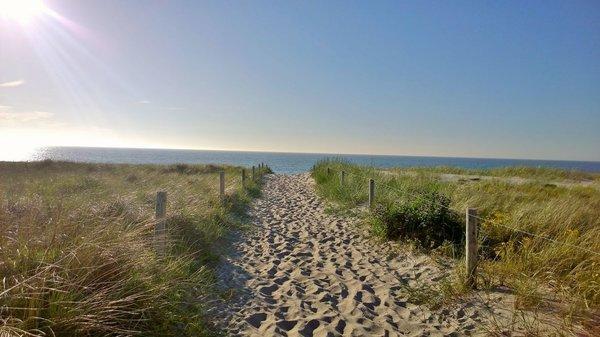 Der Weg zum Dierhagener Strand