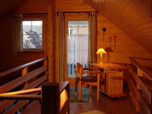 Obergeschoss einer von 2 Doppelschlafplätzen