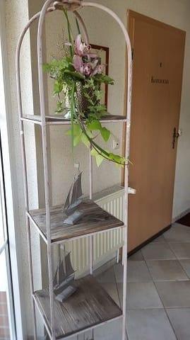 Eingang zur Wohnung Kormoran