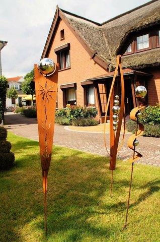 Eingang zum Ferienhaus Kogge