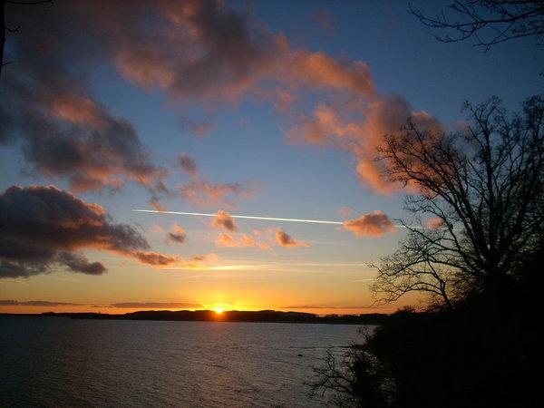 Sonnenuntergang Südstrand