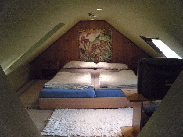 Schlafbereich oben