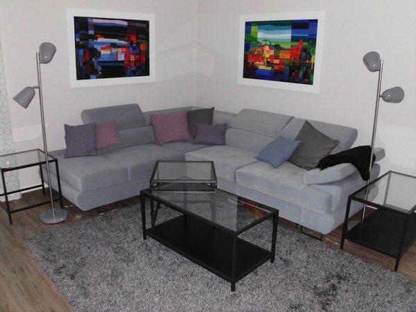 Sofa mit TV