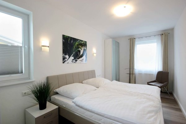 3. Schlafzimmer mit Standard-Doppelbett