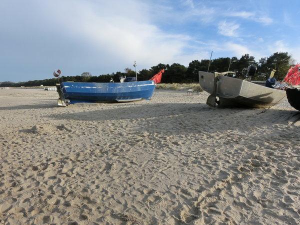 Baaber Strand -  vor der Tür