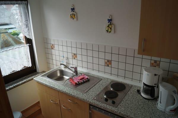 der Küchenbereich