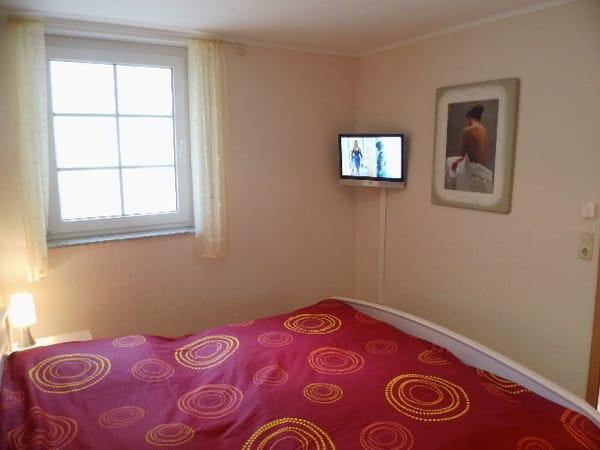 Schlafzimmer, TV