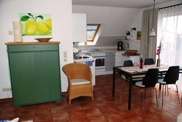 Wohn, Essbereich -und Küchenzeile