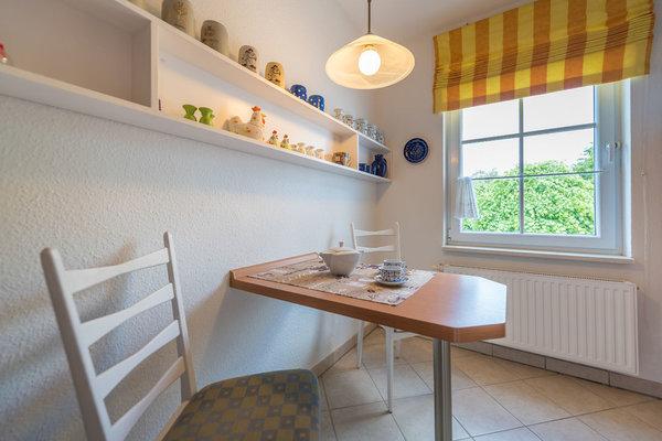 kleine Sitzgelegenheit in der Küche