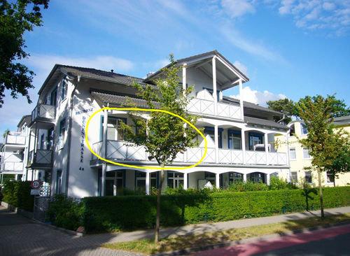 Herzlich willkommen in der Residenz Dünenstraße - Wohnung 16 mit großem Balkon!