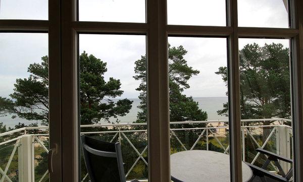 Meerblick-Balkon