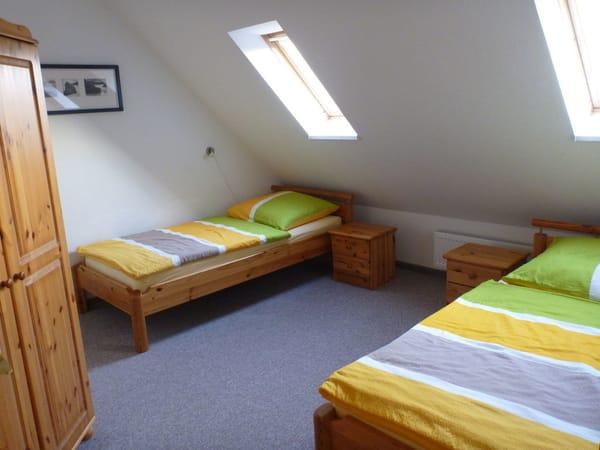 oberes Schlafzimmer / Galerie