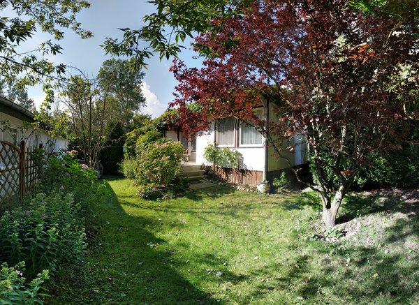 Garten und Bungalow