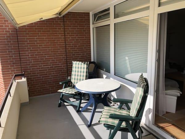 Großzügiger Balkon ca 10qm