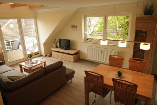 Essbereich neu -  mit Wohnzimmer