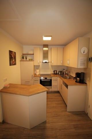 Küchenbereich neu - mit Tresen